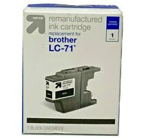 Up &Up Remanufactured Ink For Brother LC 71 Ink Cartridge - Black