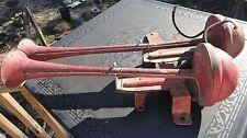 Antique Dual Air Horns - Military ? Truck Boat Train ?