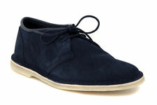 ee9512fd7a6a3 Clarks Originals Mens Jink Navy Suede Lace up Shoes Various Sizes