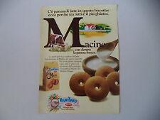 advertising Pubblicità 1984 MACINE MULINO BIANCO