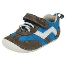 Chaussures bleues en cuir pour garçon de 2 à 16 ans, pointure 36