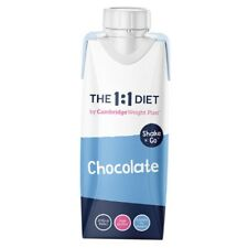 The 1:1 CWP Diet  - 24 Shake & Go  Chocolate ☕️ Ready Mixed Shakes