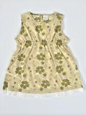 Baby Girls Safari Green Dress Size 3-6 months NEW
