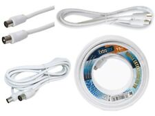 Cable Antena TV TDT Cable Coaxial Extensible Macho Hembra Extrastar 10M-25M