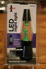 Nightlight Lava Light LED New in Package Green Black