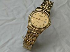 Vintage Tissot 1853 PR 50 J176/276K Stainless Steel Gold Watch