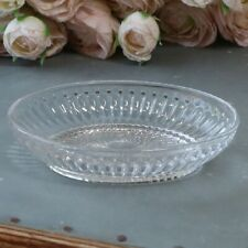 Vintage Antique Style Glass Soap Dish