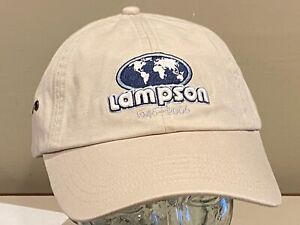 Lampson Crane Transilift Crawler Operating Engineers Ironworkers Union Hat Cap