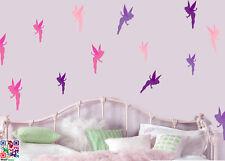 Fairy Tinkerbell Pack of 16 Wall Art Vinyl Stickers Decals Disney Fairies Murals