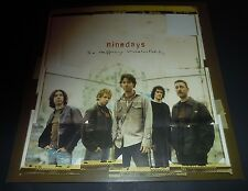 Nine Days~So Happily Unsatisfied~Original Promo Poster~12x12~Nm Condition~2002