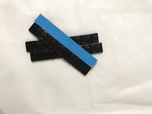 4 x Black Adhesive Stick On Wheel Weight 60g 5/10g Wheel Balance/ Car Van M/Bike