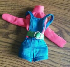 Talking Busy Barbie Doll #1195 Original Outfit Shorts & Belt ~ Vintage 1970's