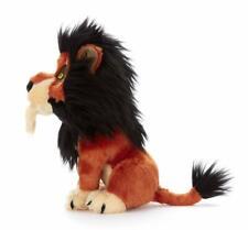 Disney THE LION KING Villains Scar Soft Plush Stuffed Toy Doll TAKARA TOMY Plash