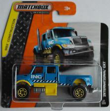 MATCHBOX-INTERNATIONAL PECHE Camion Bleu/Jaune Nouveau/Neuf dans sa boîte