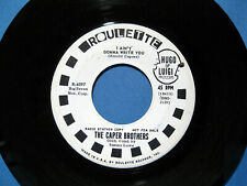 1965 Northern Soul Caper Brothers I Ain't Gonna Write You White Label Promo