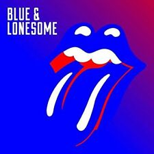 THE ROLLING STONES - BLUE AND LONESOME NEW SEALED CD ( 2016 RELEASE )