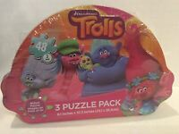 Dreamworks Trolls 3 Puzzle Pack in Troll Tin Authentic Kids Toy