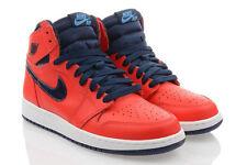 Scarpe rossi sintetici marca Nike per bambini dai 2 ai 16 anni