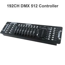 192 CH DMX 512 DJ Lighting Control Operator Stage Party Disco Console