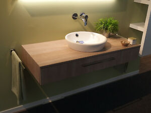 Burgbad - Sanibel Möbelkonsolen-Kombi mit Waschtisch-Schale - UVP 1.600 EUR