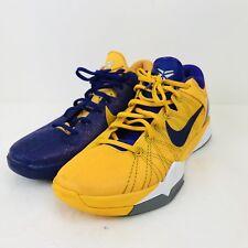 Nike Kobe VII Zoom Size 11.5 Basketball 2012Purple Yellow Lakers RARE 488371 501