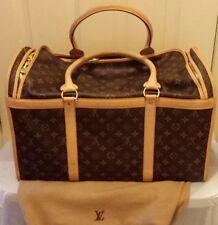 Louis Vuitton Monogram Sac Chien 50 Dog Pet Carrier Bag Purse Travel bag