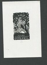 EXLIBRIS,215a, Ella Goldschmidt - In Memoriam Otto Feil