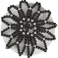 Equi Theme Haarnetz Perles Turnier Haarnetz mit Perlen schwarz
