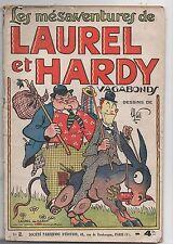 Les mésaventures de LAUREL ET HARDY n°2. Vagabonds. Par MAT. SPE 1937