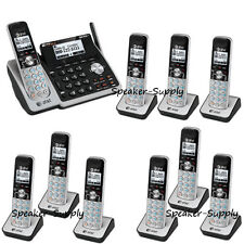 AT&T 2 Line Telephone Answering Machine System 10 Cordless Phone TL88102 9 88002