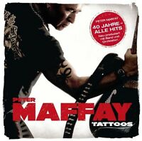 "PETER MAFFAY ""TATTOOS (40 JAHRE MAFFAY)"" CD BEST OF NEU"