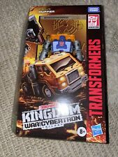 Transformers War for Cybertron: Kingdom Deluxe Huffer Action Figure
