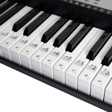 88/61/54 Electronic Keyboard Key Sticker Transparent Fit Piano Keyboard