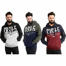 New Mens Crosshatch Pullover Hoodie Winter 2018 Edition Sweatshirt Jumper Top
