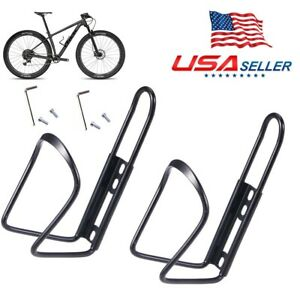 CW/_ MTB Bike Bicycle Drink Water Bottle Cup Holder Front Mount Cage for Cycle De