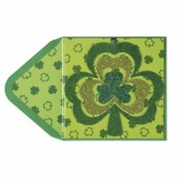 "Papyrus Clover Shamrock Mobile St Patrick's Day Card - ""Hang Me on Things!"""