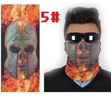 New Skull Multi Bandanna Bike Motorcycle Scarves Face Mask CS Ski Sport 05#