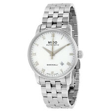 Mido Baroncelli Stainless Steel Mens Watch M8600.4.26.1