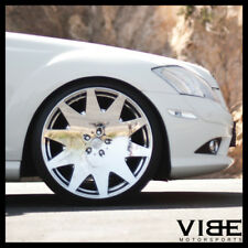 """22"""" MRR HR3 CHROME VIP CONCAVE WHEELS RIMS FITS BENZ W222 S550 S63 S65"""