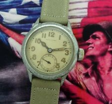 Men's Original 1944 Hamilton Ordnance Wristwatch with Correct Strap - SERVICED