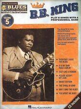 Blues Play-Along B.B. King Clarinet Sax Saxophone Flute Woodwind Music Book