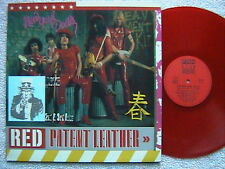 """NEW YORK DOLLS """"RED PATENT LEATHER"""" LP RED VINYL FRENCH IMPORT RARE"""