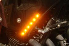 Tiras de led indicador Ámbar Luces de posición LED Streetfighter Trike 6 SMD x2