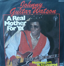 "7""1977 MINT-! JOHNNY GUITAR WATSON A Real Mother For Ya"