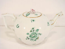 Herend Chinese Nanking Bouquet Tea pot 602 / NB Green 6-8 TEACUPS,48fl OZ HOLD