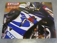 Suzuki Dealer Sales Brochure Factory Original OEM 2000 GSXR600 GSXR750 TL1000R