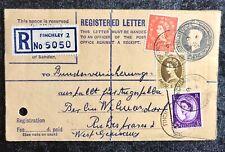 ALT ENGLAND echt gelaufener Beleg 1962 - Finchley -  Berlin Wilmersdorf