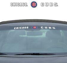 "CHICAGO CUBS 35"" X 4"" WINDSHIELD WINDOW DECAL CAR TRUCK MLB BASEBALL"