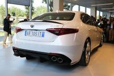 Alfa Romeo Giulia Carbon Fiber Trunk Rear Spoilers Quadrifoglio Style  2016 - up