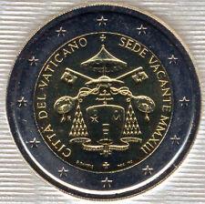 Vaticano 2013 Cartera oficial 2 Euros @ SEDE VACANTE @